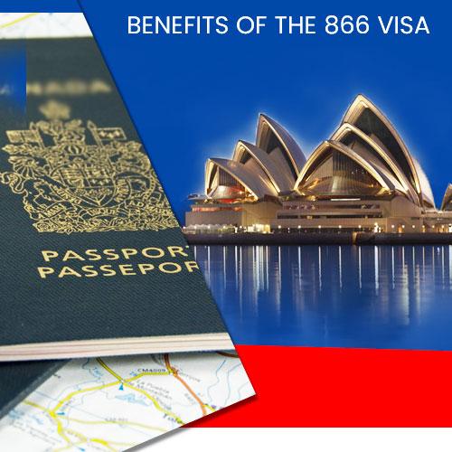 BENEFITS OF THE 866 VISA