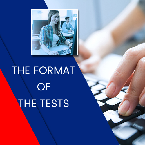 THE FORMAT OF THE TESTS