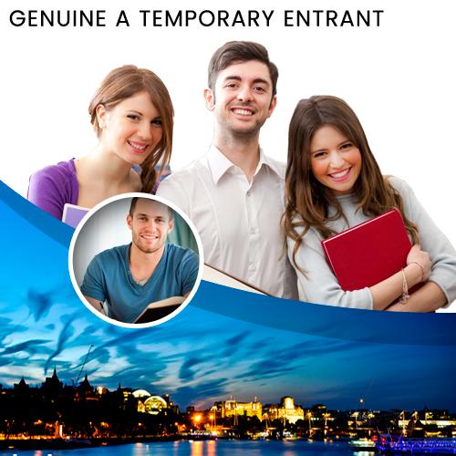 GENUINE A TEMPORARY ENTRANT