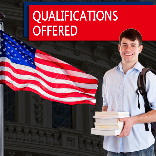 Qualifications offered USA