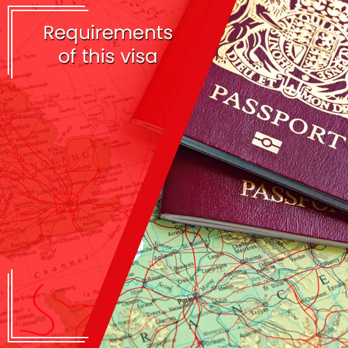 REQUIREMENTS OF THIS VISA